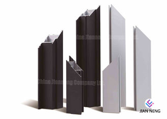 60 Series Soundproof Aluminium Glazing Profiles , Thermal - Break Window Frame Profile