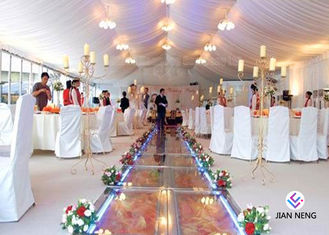 Romantic Clear Span Wedding Event Marquee Tent With Sidewall Curtain